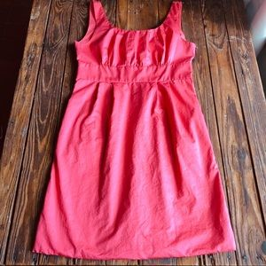 J. Crew pink dress